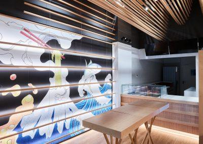 architetto henry gallamini progetto ristorante ferrara