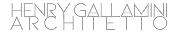 Henry Gallamini - architetto